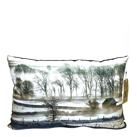 Kilburn & Scott Multicolour Winter Scene Cushion  33 x 50 cm