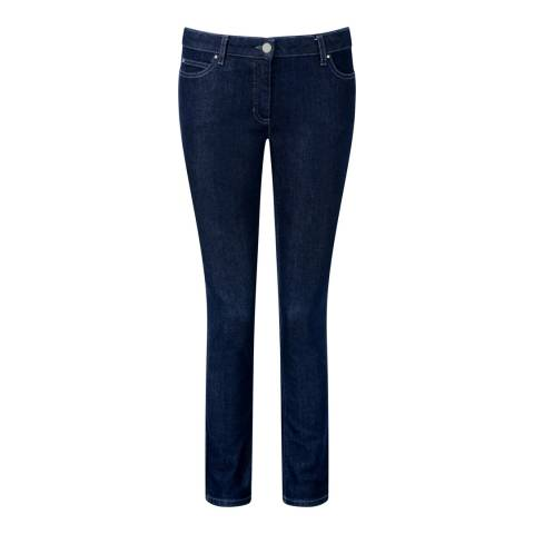 Pure Collection Indigo Slim Cotton Stretch Jeans