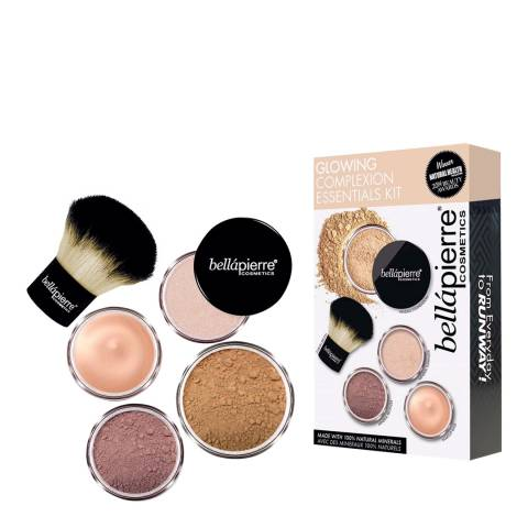 Bellapierre Glowing Complexion Essentials Kit Dark