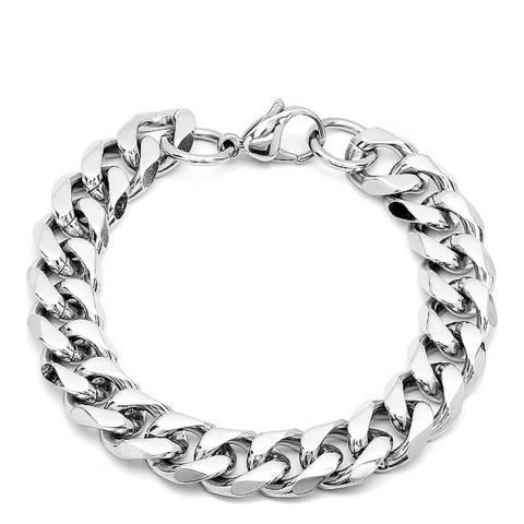 Stephen Oliver Silver Link Chain Bracelet
