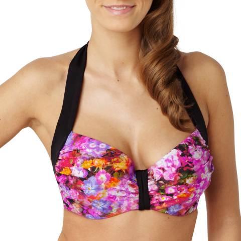 Panache Floral Print Savannah Balconnet Bikini Top