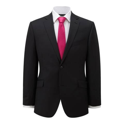Austin Reed Charcoal Plain Wool Suit Jacket
