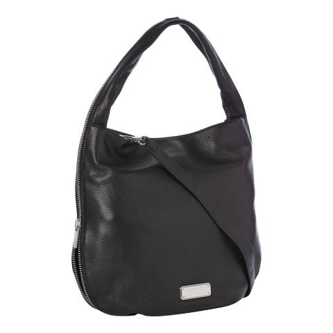 Marc by Marc Jacobs Black Leather Hillier Hobo Bag