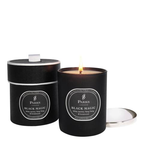 Parks London White Jasmine/Ylang Ylang Black Magic Candle