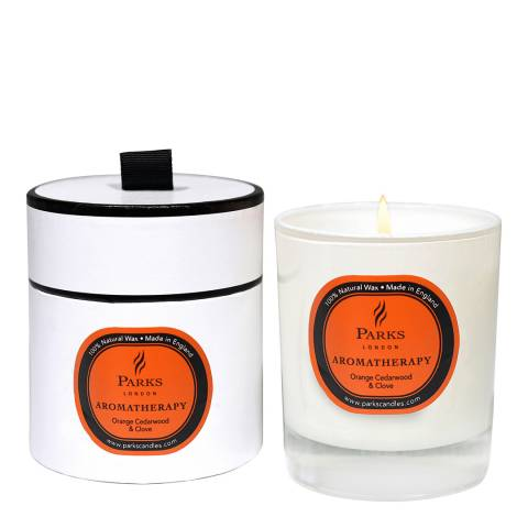 Parks London Orange Cedarwood/Clove Aromatherapy Candle
