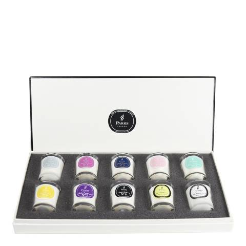 Parks London Set of Ten Parks Exclusive Deluxe Gift Candles