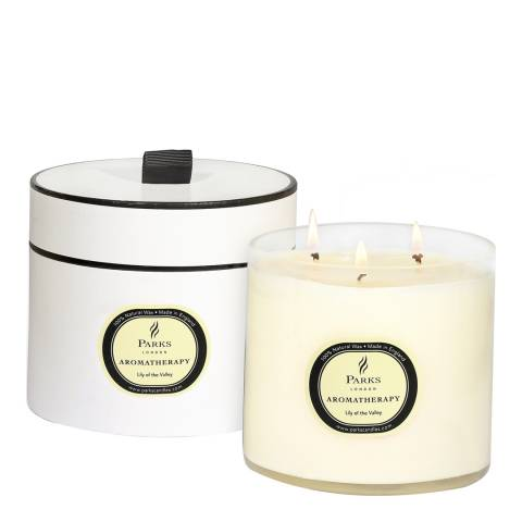 Parks London Lily of the Valley Aromatherapy Three Wick Candle