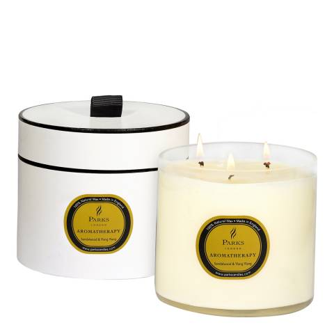 Parks London Sandalwood/Ylang Ylang Aromatherapy Three Wick Candle