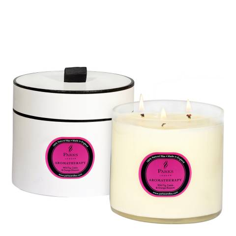 Parks London Wild Fig/Cassis/Orange Blossom Aromatherapy Three Wick Candle