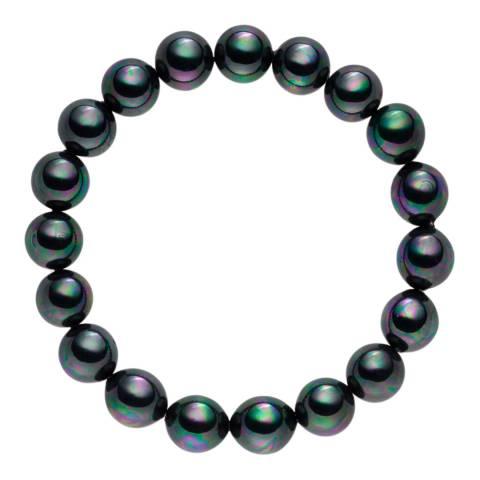 Nova Pearls Copenhagen Dark Grey Freshwater Pearl Bracelet
