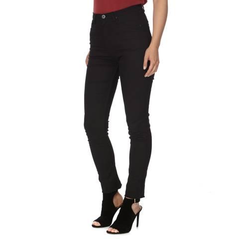 Bolongaro Trevor Black High Waisted Skinny Stretch Jeans