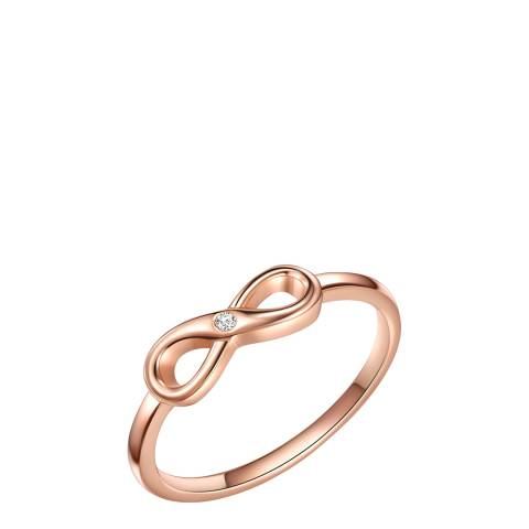 Tess Diamonds Rose Gold Infinity Diamond Ring