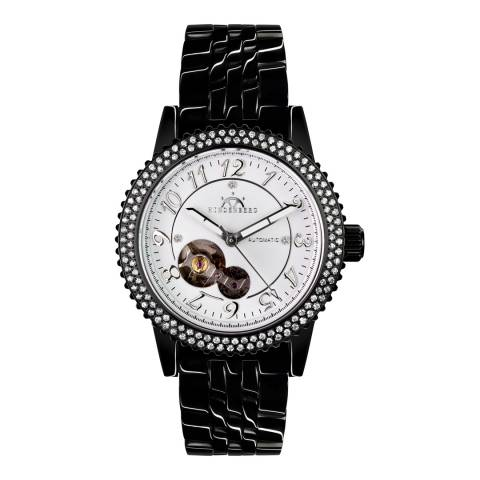 Hindenberg Women's Charcoal Stainless Steel Air Professional Lady Watch