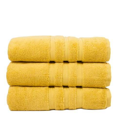 The White Room Saffron 800gsm Luxury Pima Cotton Bath Sheet
