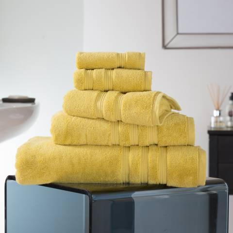 Deyongs Opulence 800gsm Pima Cotton Bath Sheet, Saffron