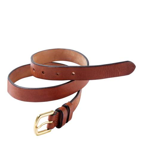 Pure Collection Tan Leather Belt