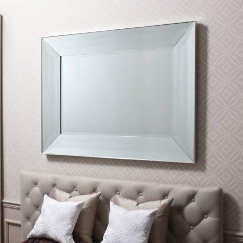 Gallery Silver Ferrara Wall Mirror 92x122cm