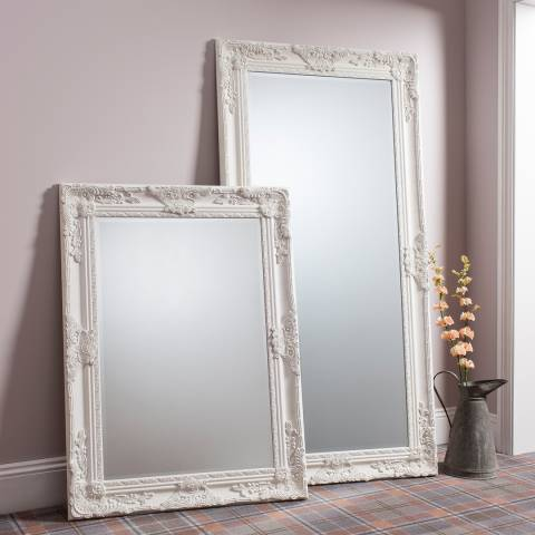 Gallery Cream Hampshire Leaner Mirror 170x84cm