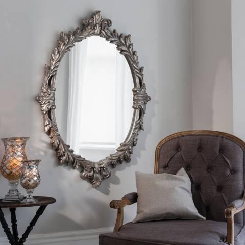 Gallery Silver Marland Wall Mirror 127x88cm