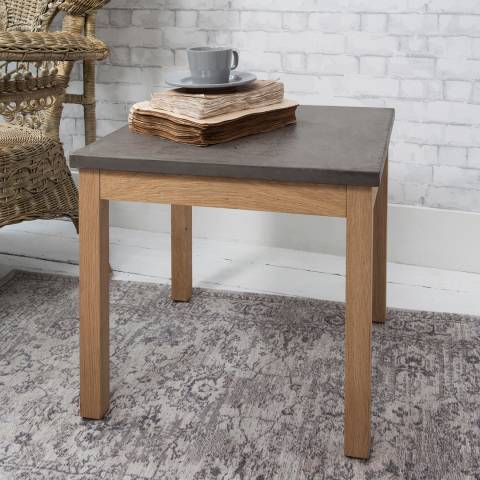 Gallery Grey Detroit Small Side Table
