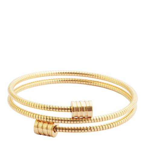 Chloe Collection by Liv Oliver Gold Wrap Bracelet