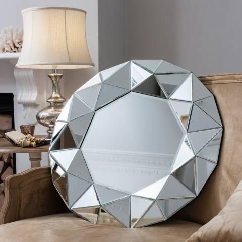 Gallery Silver Zaragoza Mirror 70x70cm