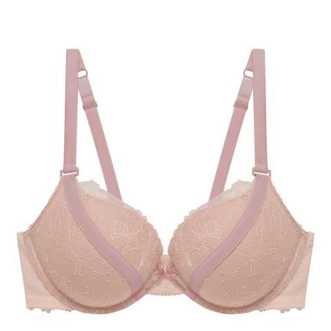 Pleasure State VIP Soft Pink/Hushed Violet Lily Sabine Contour Plunge Bra
