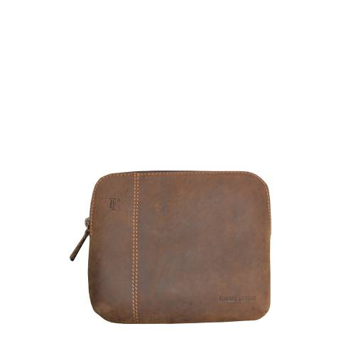 Forbes & Lewis Dark Brown Leather Montpelier IPad Case