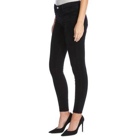 J Brand Black Mid Rise Super Skinny Stetch Jeans