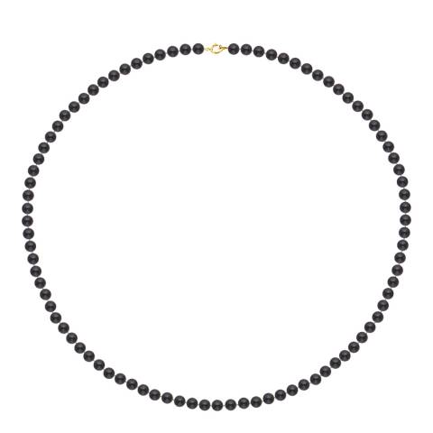 Just Pearl Black Tahitian Pearl Necklace