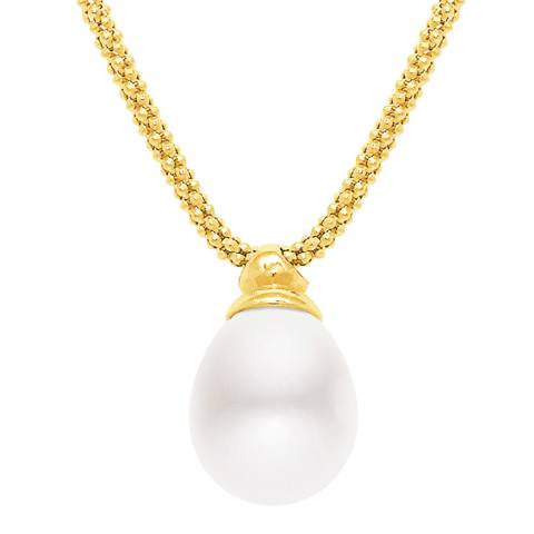 Mitzuko White Freshwater Pearl Necklace