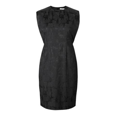 DAY Birger Et Mikkelsen Black Patterned Cotton Blend Dress