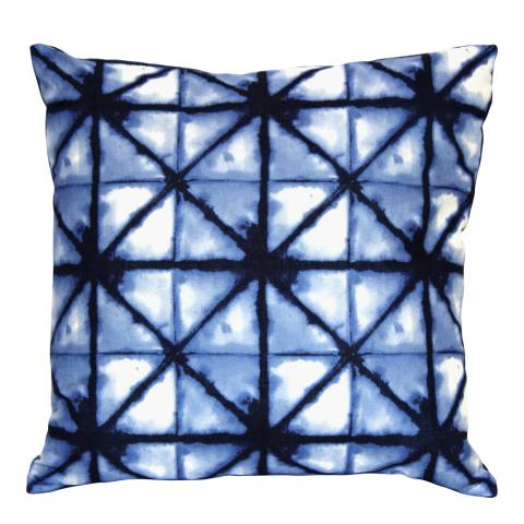 Gallery Blue Morrocan Tile Cushion 43x43cm