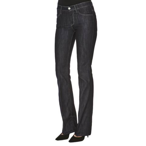 7 For All Mankind Blue Classic Boot Cut Jeans