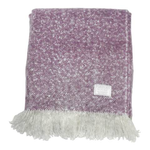 Gallery Heather Chic Faux Mohair Throw 130x180cm