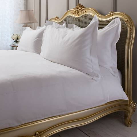 Gallery Chelsea White Quilt Cover Set Kingsize