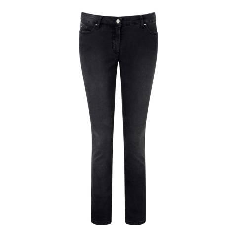 Pure Collection Grey Denim Slim leg jeans