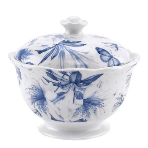Portmeirion Blue Botanic Covered Sugar Bowl