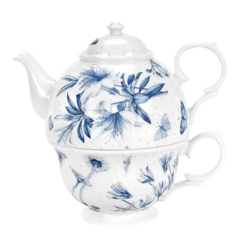 Portmeirion Blue Botanic Tea for One