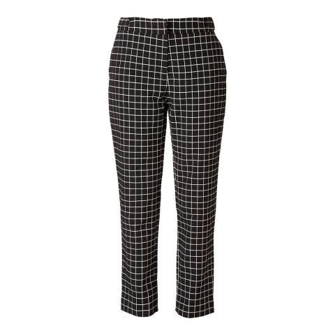 Orla Kiely Black/White Window Pane Jacquard Trousers