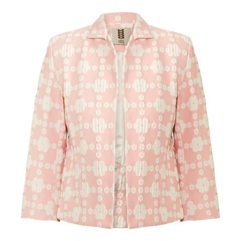Orla Kiely Pink Daisy Gingham Jacket