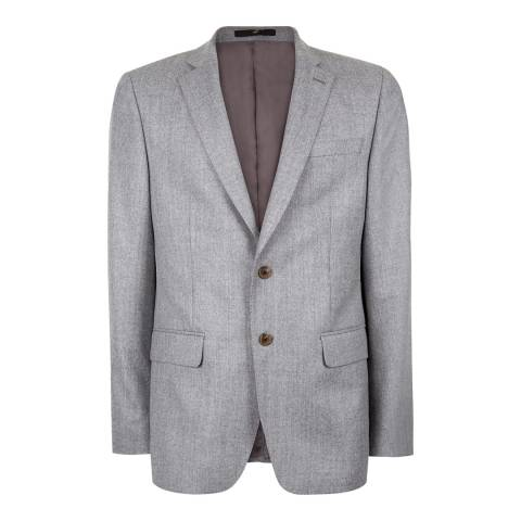 Jaeger Grey Modern Classic Wool Jacket
