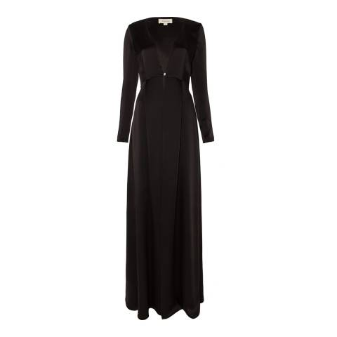 Temperley London Black Adriana Maxi Coat