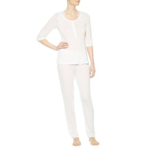 La Perla White Begonia Pyjamas