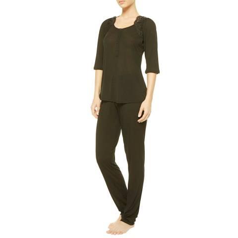 La Perla Black Begonia Pyjamas