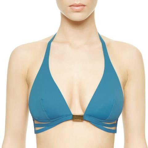 La Perla Ocean Blue Eclipse Bikini Top