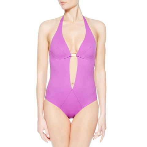La Perla Violet Eclipse Underwired Swimsuit