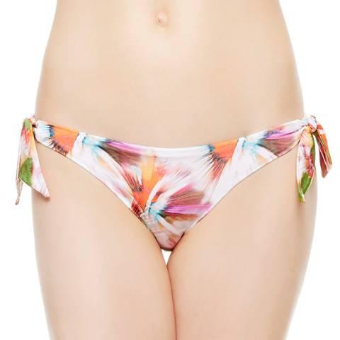 La Perla White Pink/ Abyss Bikini Briefs