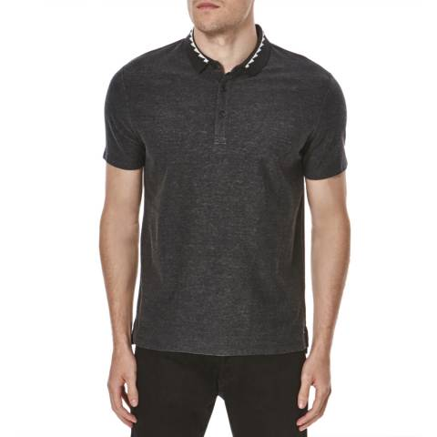 Hugo Boss Black Doman Jersey Cotton Polo Shirt