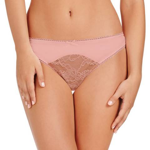 Pleasure State VIP Powder Pink/Frappe Lorna Elise Thong